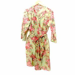 💘 Flower Print Robe